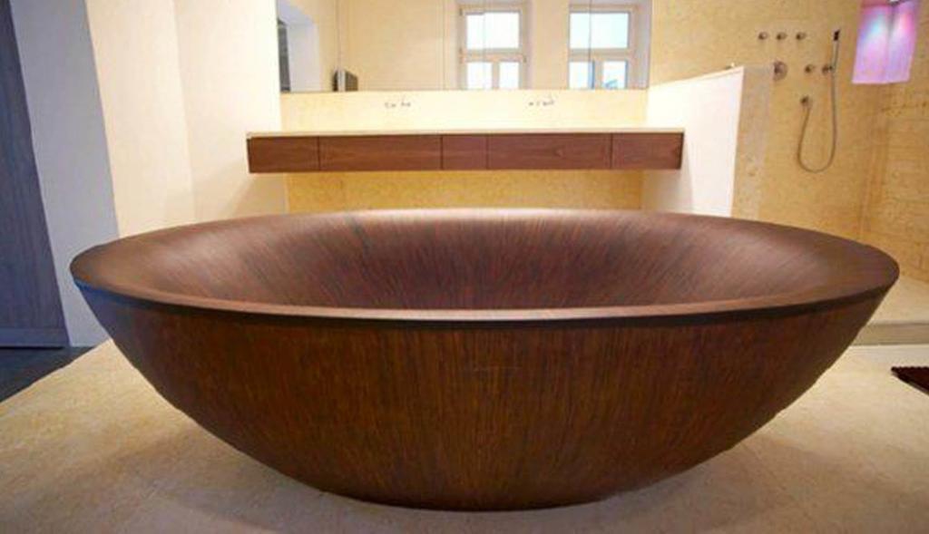 Деревянная ванна Фото 9