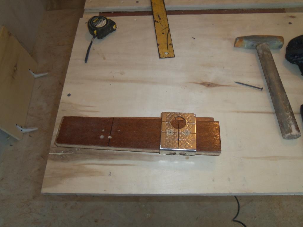 Самодельный шаблон для врезки мебельных петель. Фото (10)
