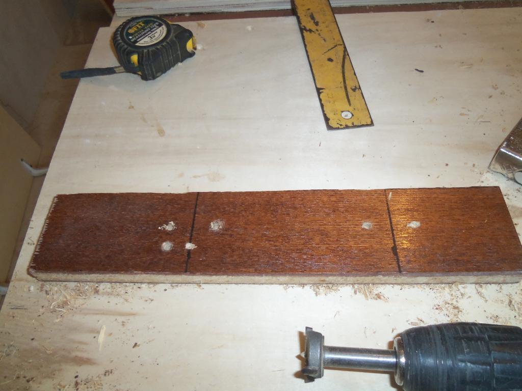 Самодельный шаблон для врезки мебельных петель. Фото (13)