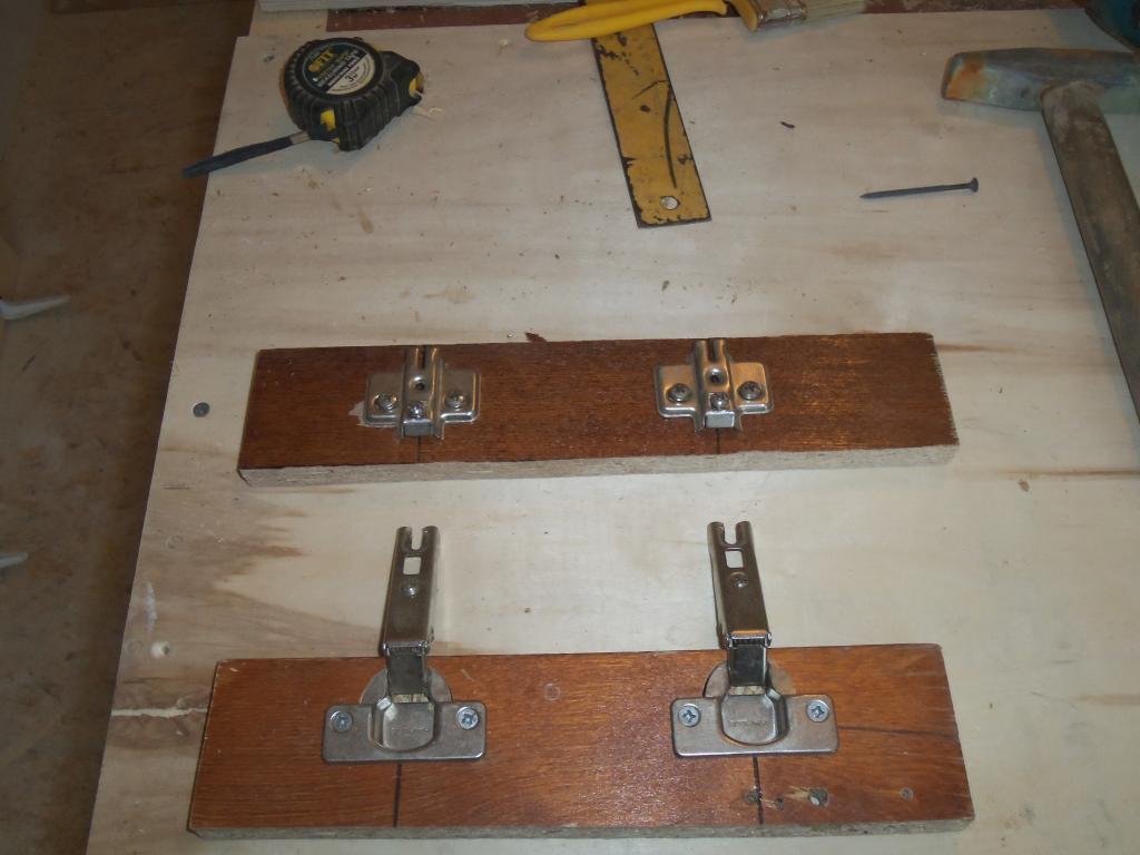 Самодельный шаблон для врезки мебельных петель. Фото (14)