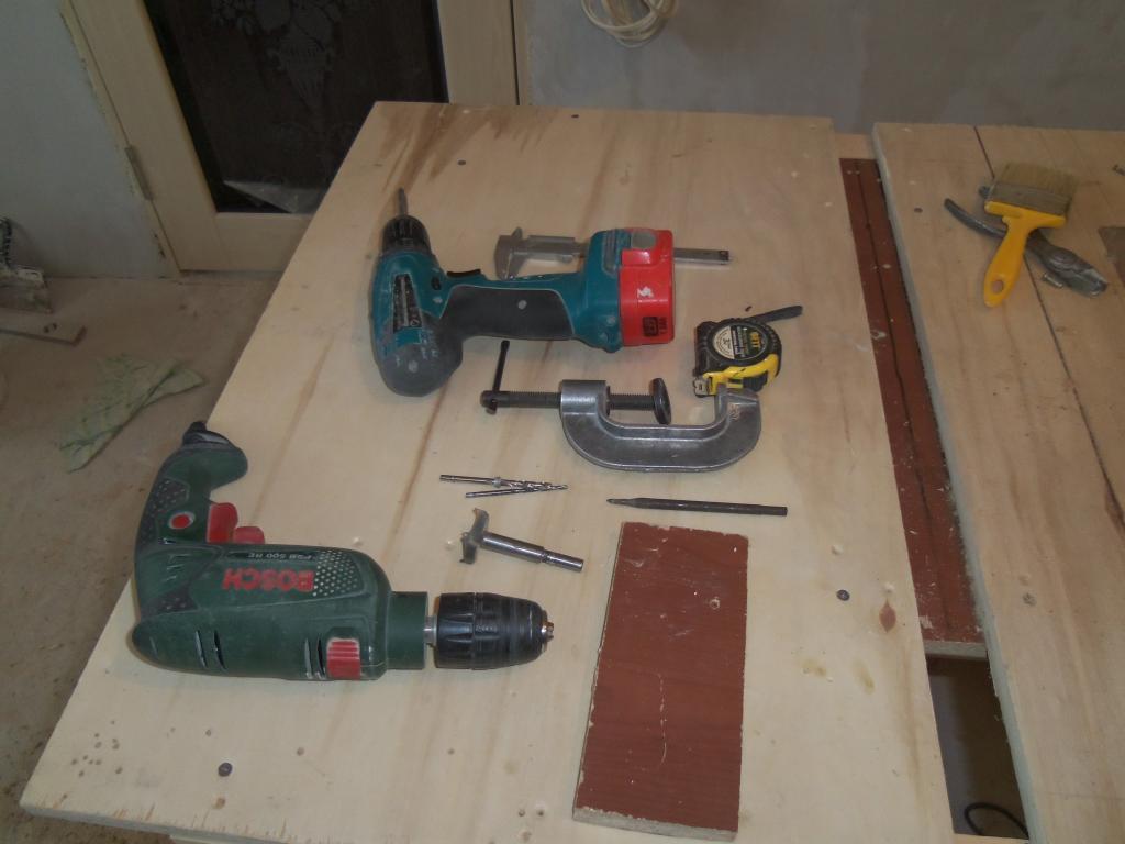 Самодельный шаблон для врезки мебельных петель. Фото (4)