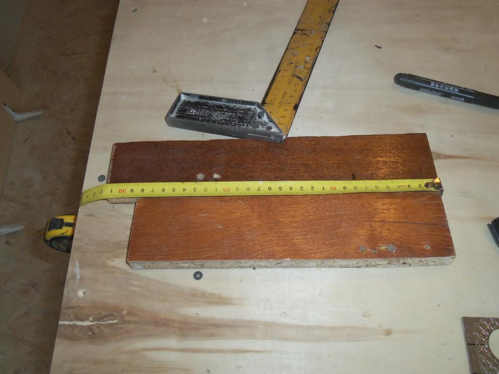 Самодельный шаблон для врезки мебельных петель. Фото (7)