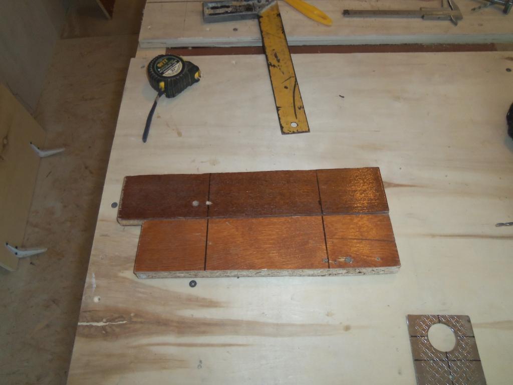 Самодельный шаблон для врезки мебельных петель. Фото (8)