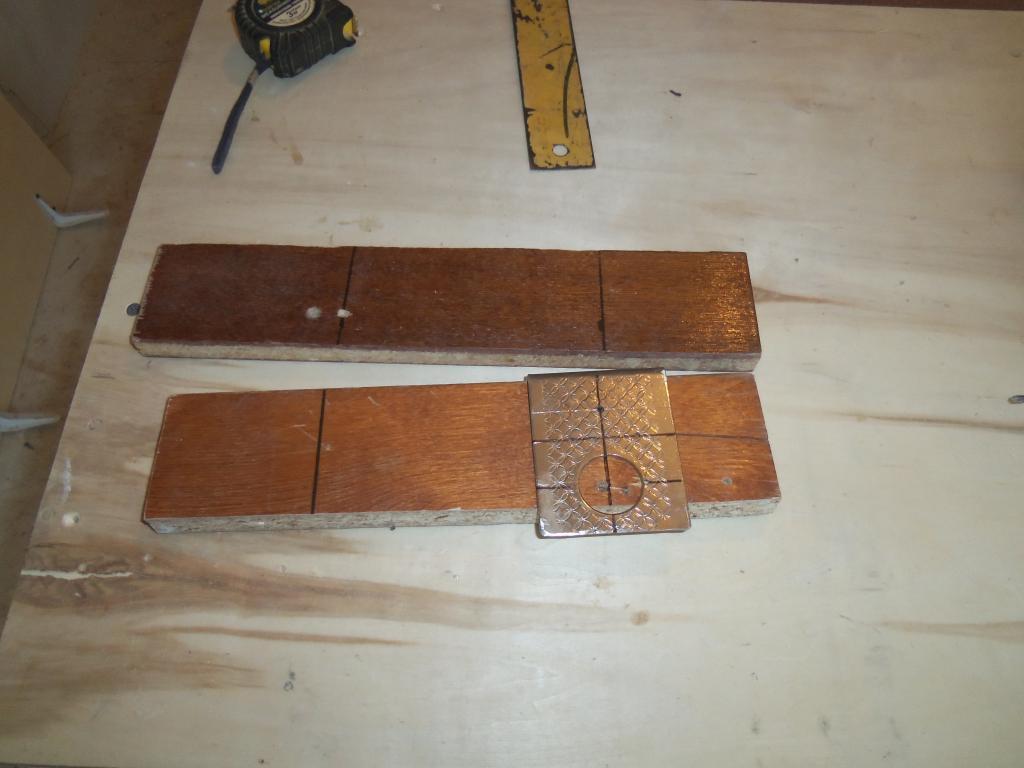 Самодельный шаблон для врезки мебельных петель. Фото (9)
