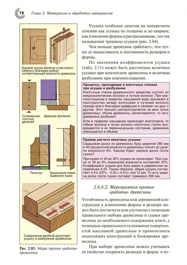 Справочник строителя. Деревообработка. Примеры страниц 6