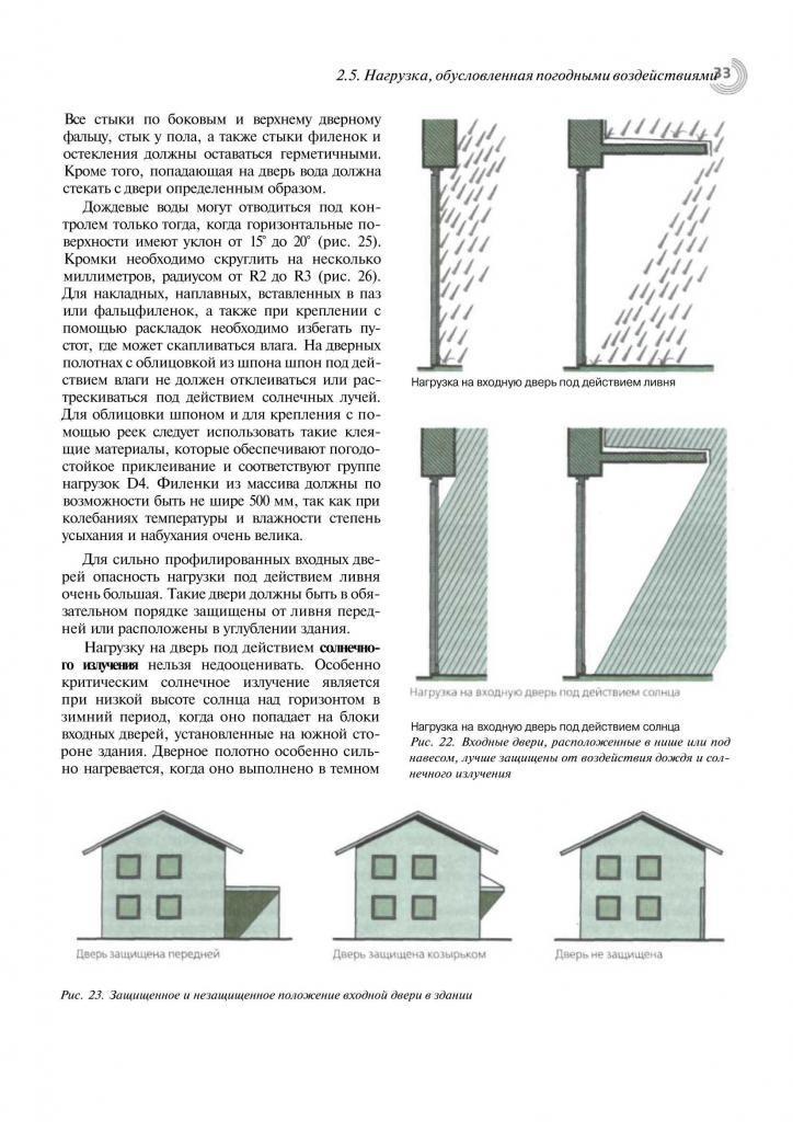 Справочник строителя. Деревянные двери. Пример страницы1
