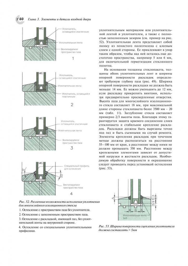 Справочник строителя. Деревянные двери. Пример страницы4