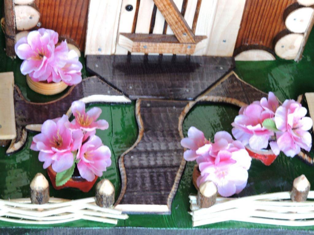 Элементы декора скворечников. Фото (2)