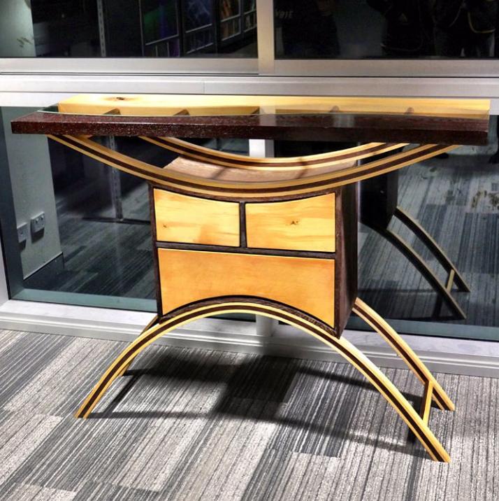 Коридорный столик с тумбой