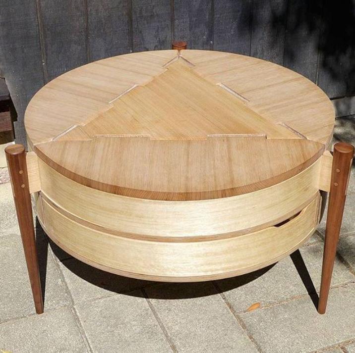 Круглый кофейный столик