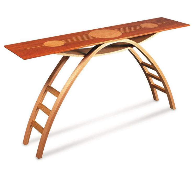 Параболический стол от Darren Oates