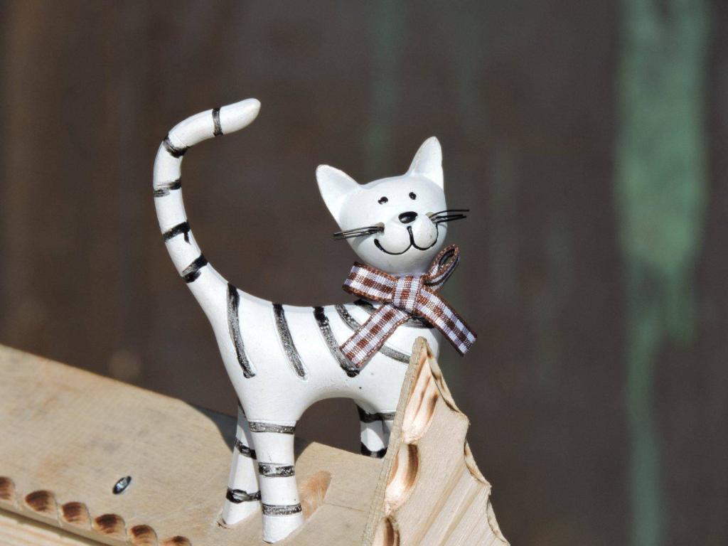 Скворечник с котом. Фото (2)