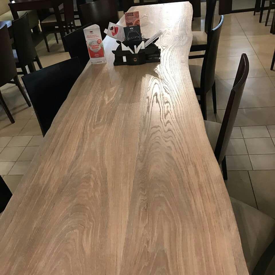 Стол из слэбов для кафе