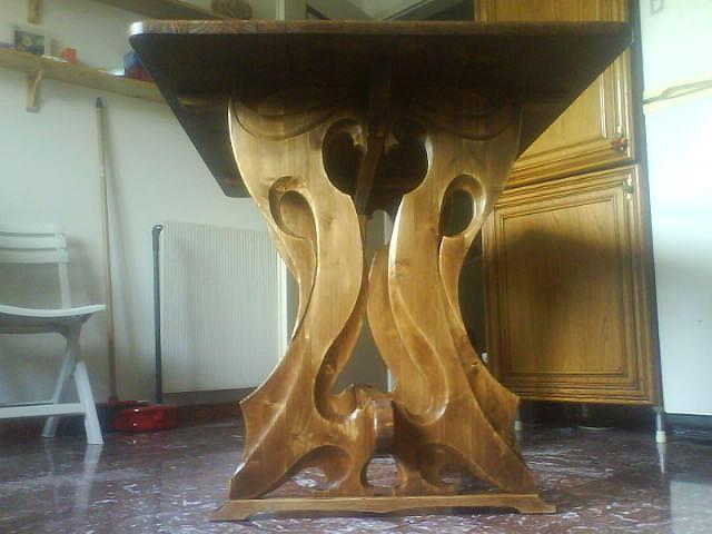 Стол с резным подстольем (1)