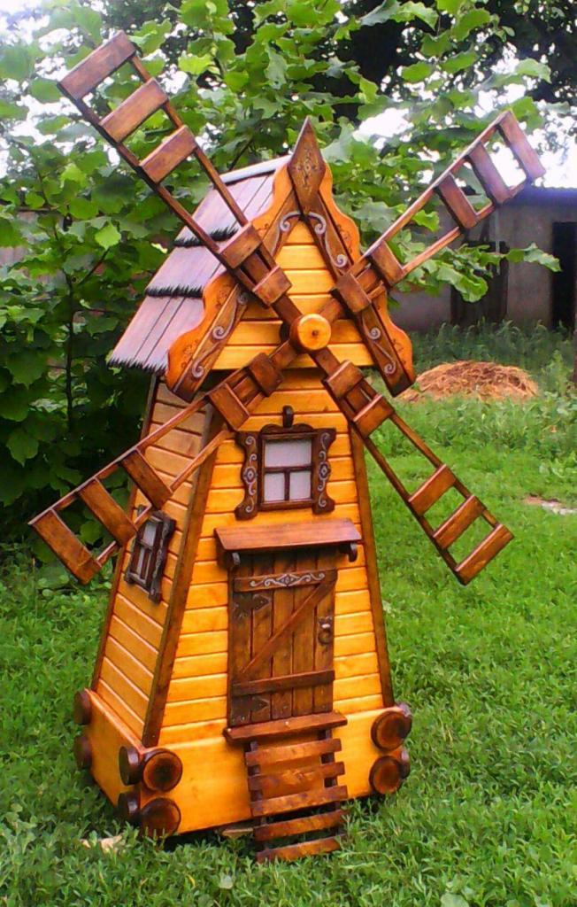 Деревянная мельница (1)