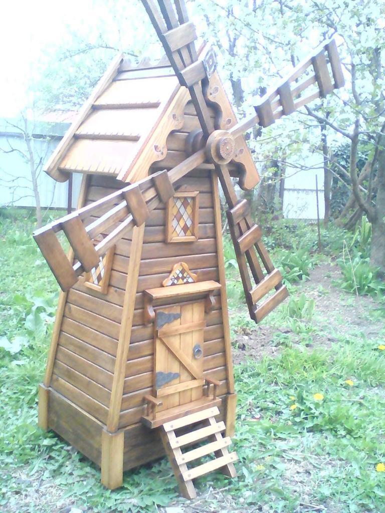 Деревянная мельница (2)