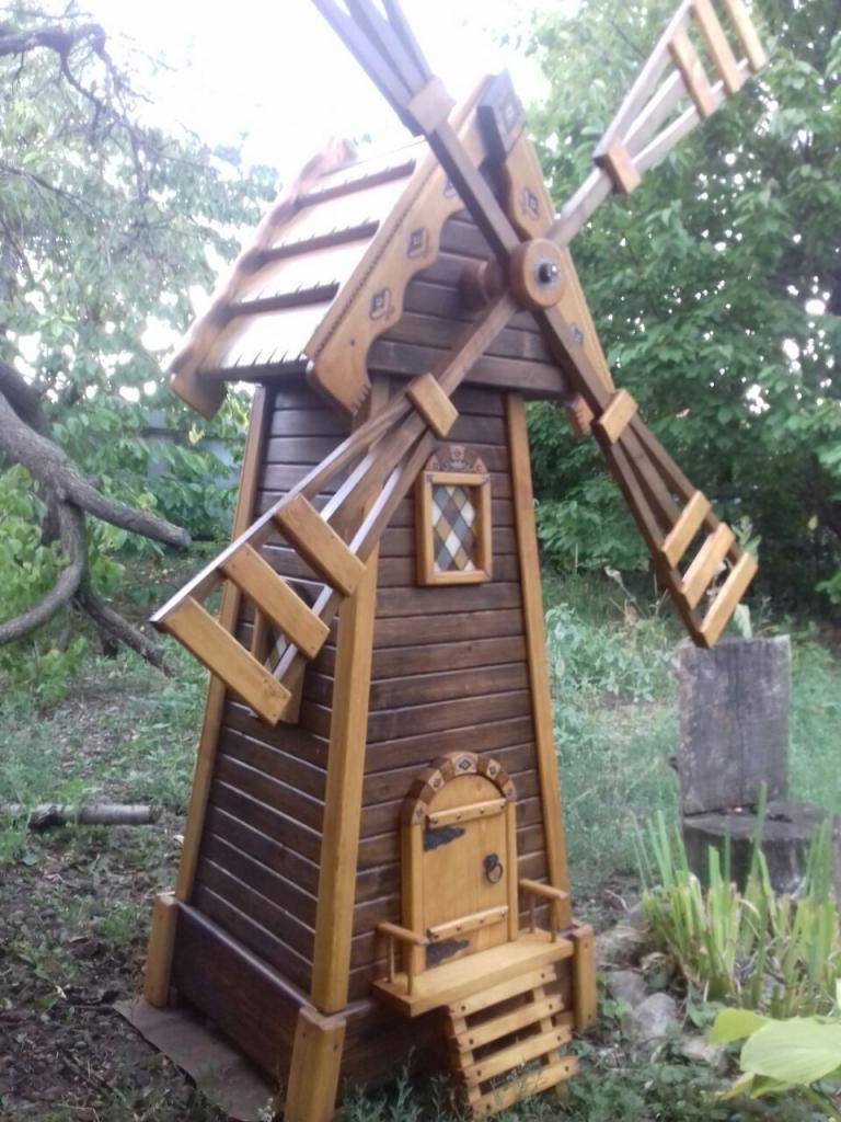 Деревянная мельница (3)