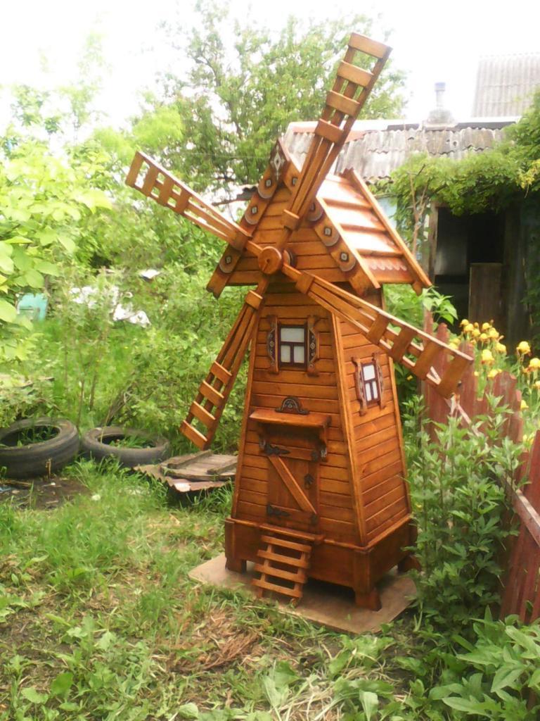 Деревянная мельница (4)
