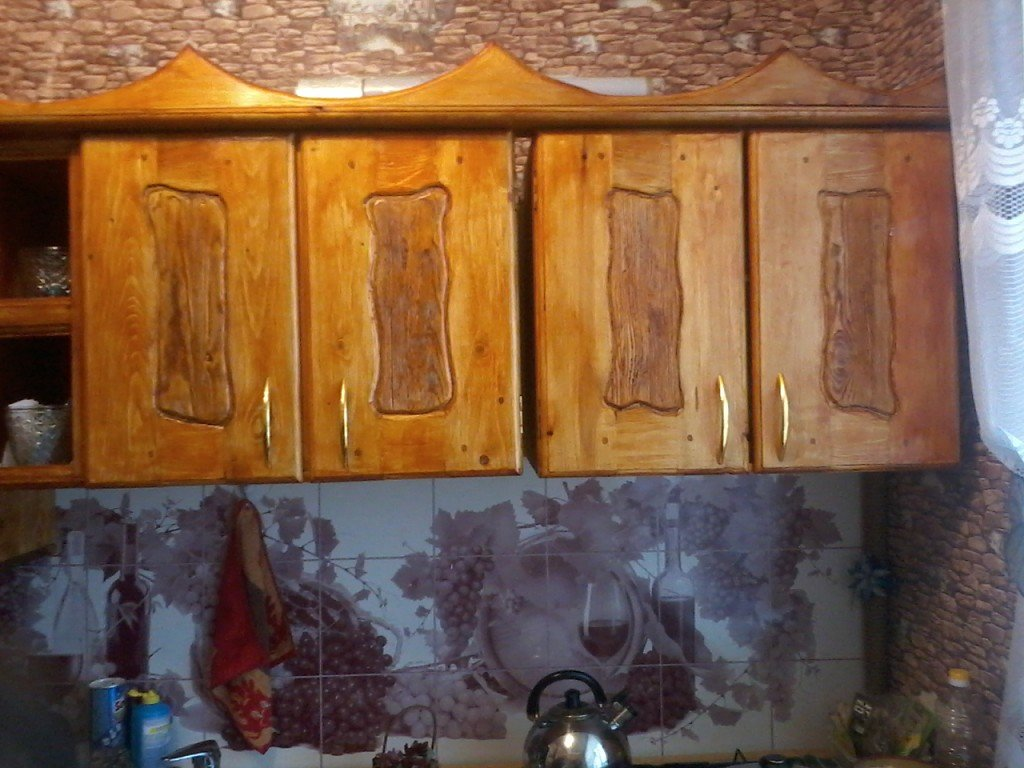 Кухонный гарнитур под старину (2)