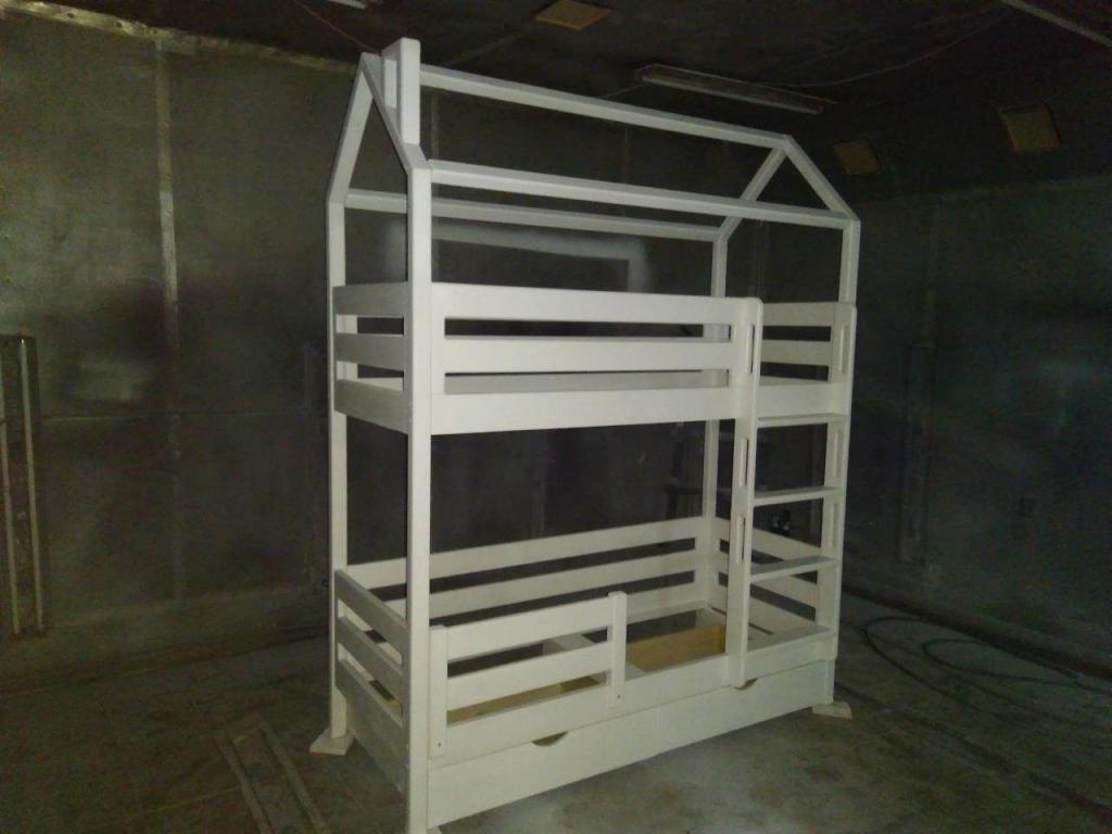 Процесс работы над кроватками-домиками. Фото (3)
