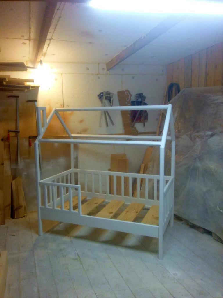 Процесс работы над кроватками-домиками. Фото (5)