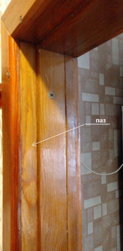 Элемент дверной коробки