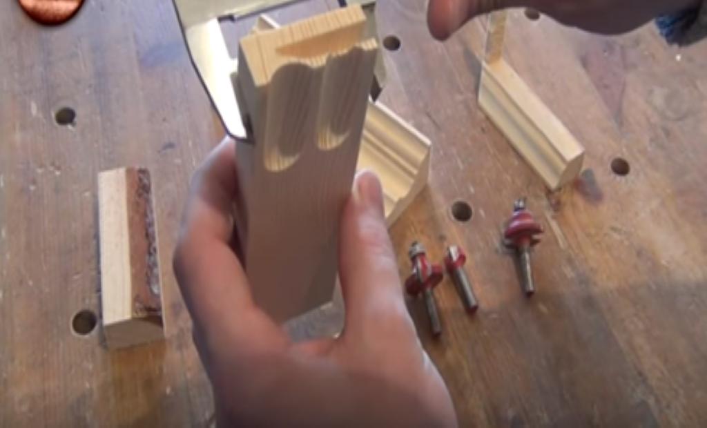 Измерение размеров широкой рейки