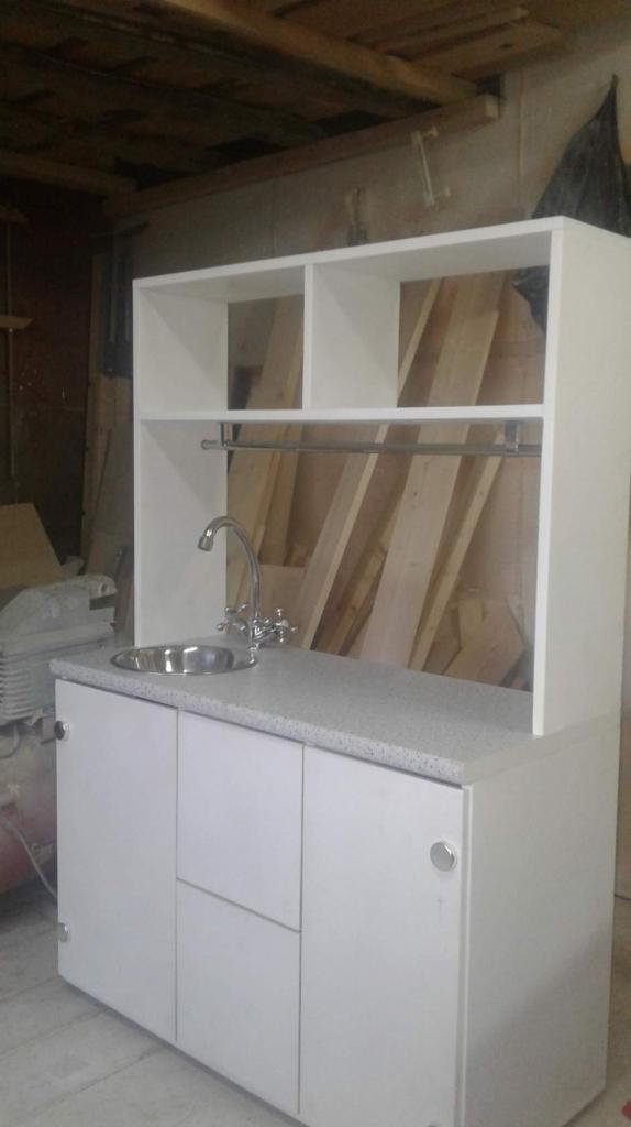 Кухонный шкаф с мойкой (1)