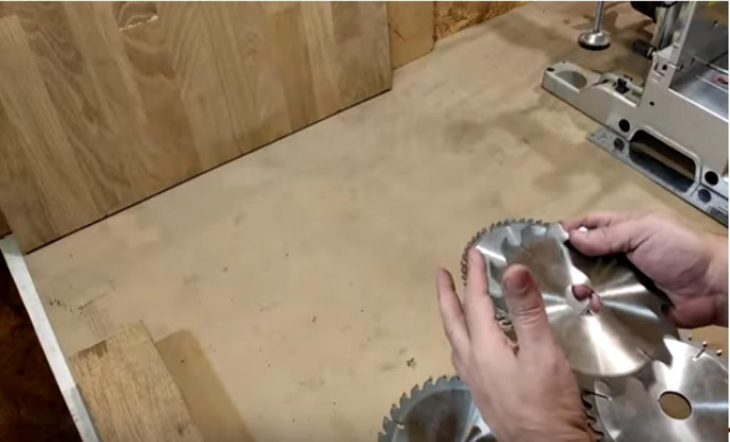 Проверка диска пальцем