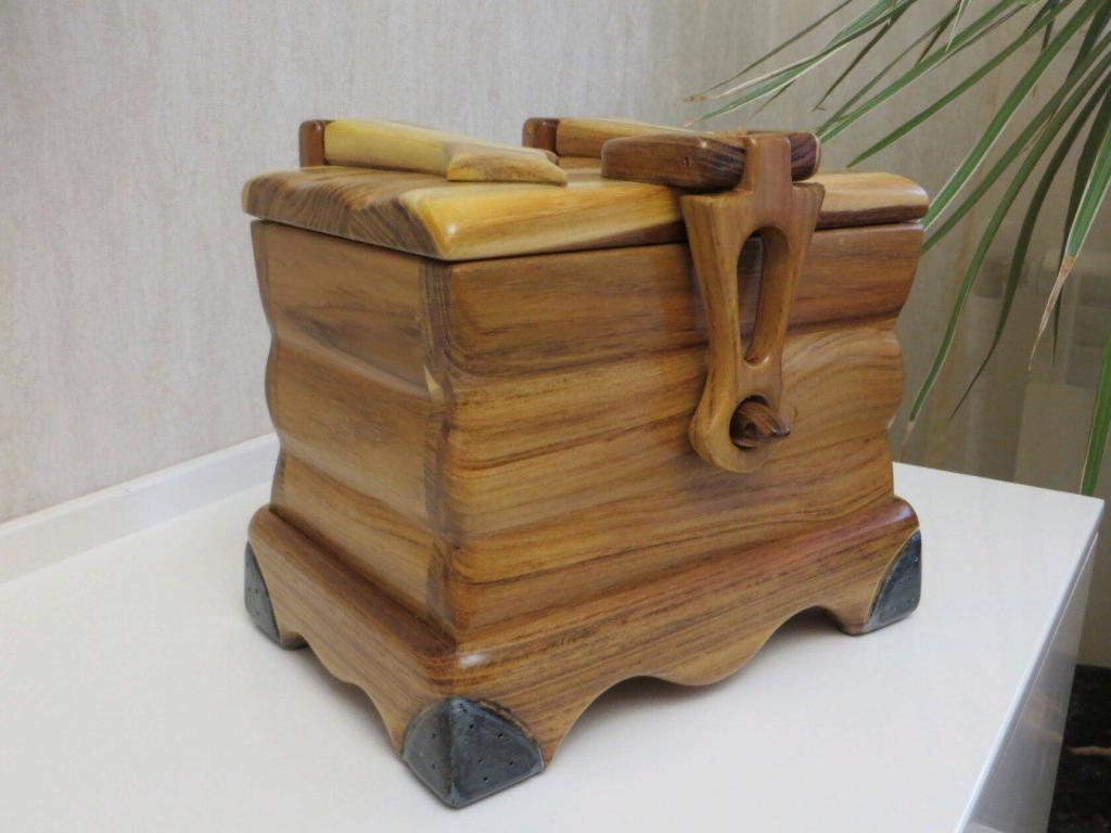 Шкатулка с деревянными шарнирами (4)