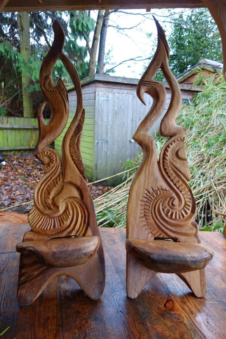 Резные стулья викингов