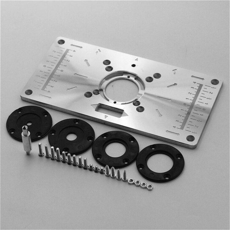 Алюминиевая пластина для фрезера в стол (1)