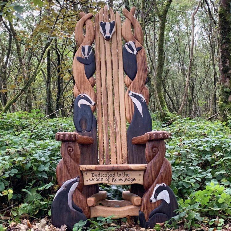 Барсучье кресло