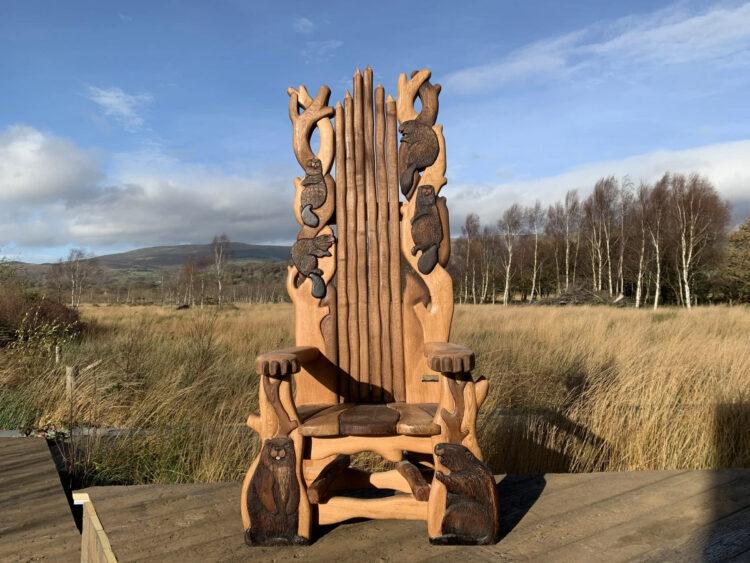 Бобровое кресло