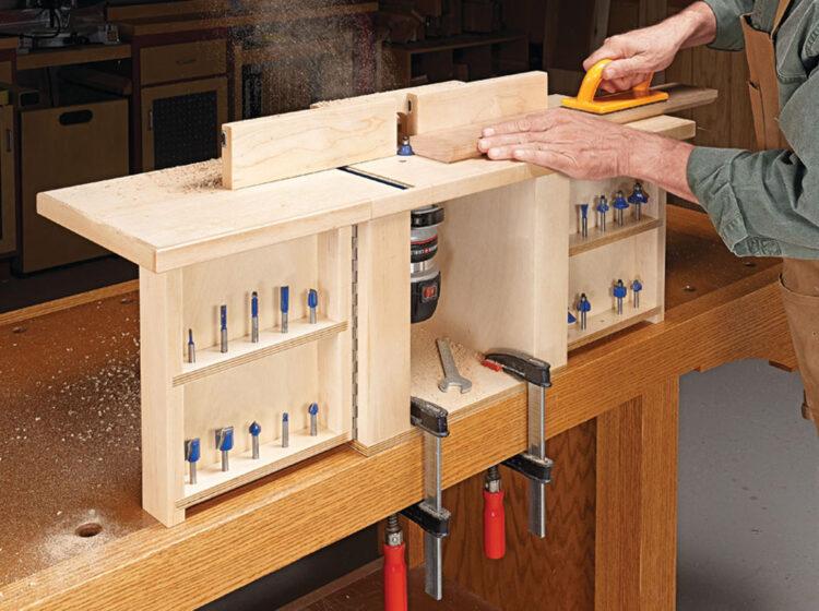 Компактные настольные фрезерные столы (1)