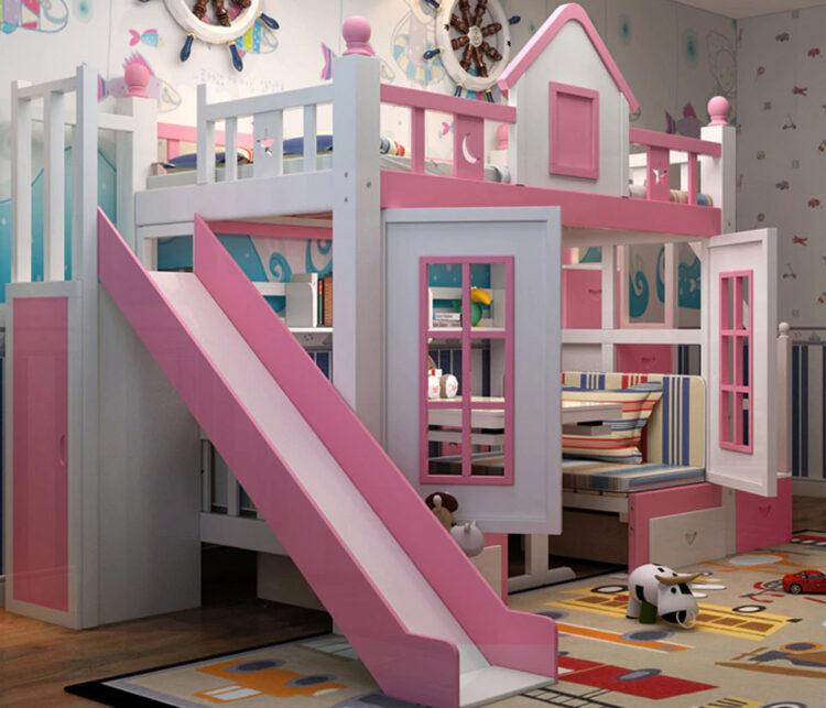 """Детская кроватка """"Замок принцессы"""""""
